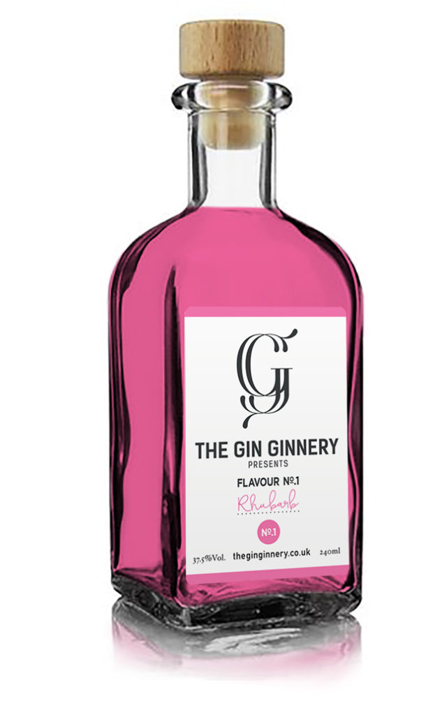 The Gin Ginnery bottle